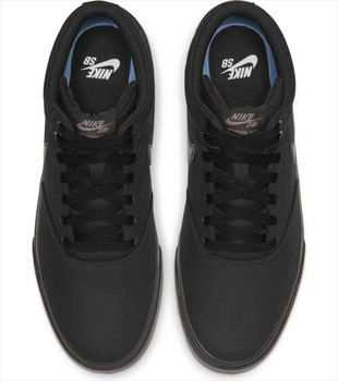 Nike SB Charge Mid Trainers Skate Shoes UK 8 Black/Black