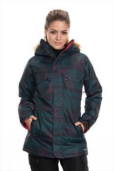 686 Dream Womens Snowboard/Ski Jacket, S Deep Teal Blanket