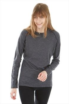 Montane Primino 220 Long Sleeve Women's Merino T-Shirt, XL Black