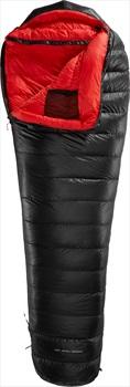 Yeti VIB 400 LZ Lightweight Down Sleeping Bag, L Black/Red