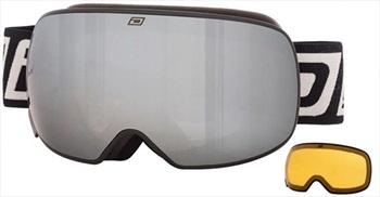 Dirty Dog Mutant 2.0 Black Ski/Snowboard Goggles, L Black-Grey