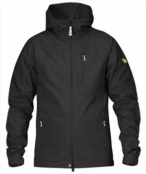 Fjallraven Sten Water Resistant Jacket, M Black