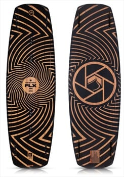 Liquid Force FLX Wood Core Park Wakeboard, 143 Brown 2019