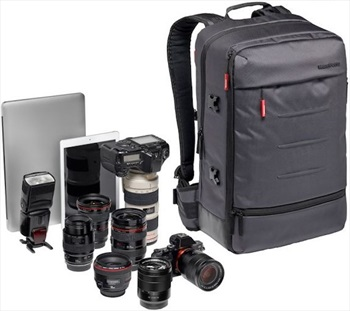 Manfrotto Mover-50 Manhattan Backpack Protective Camera and Laptop Bag