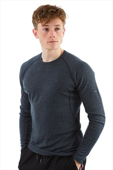 Montane Primino 220 Long Sleeve Merino Primaloft T-Shirt, XXL Black