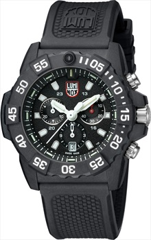 Luminox Navy Seal 3580 XS.3581 Wrist Watch, Black/White