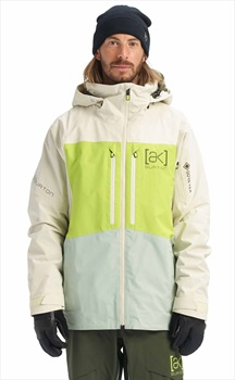 Burton [ak] 2L Swash Gore-Tex Ski/Snowboard Jacket, S Almond Milk