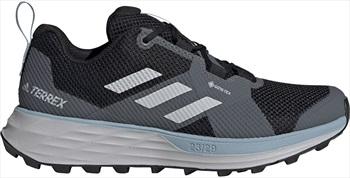 Adidas Terrex Two GTX Women's Trail Shoes, UK 7 Grey Three F17