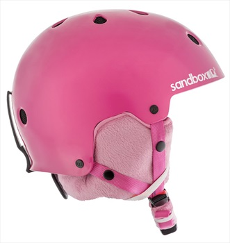 Sandbox Legend Ace Kids Ski/Snowboard Helmet, Kids Hot Pink