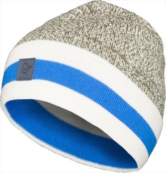 Norrona /29 Marl Knit Stripe Merino Wool Winter Beanie, Olive Night