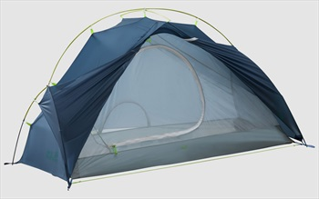 Jack Wolfskin Exolight 1 Ultralight Trekking Shelter, 1 Man Steel Blue