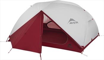 MSR Elixir 3 V2 Tent Backpacking Shelter, 3 Person Grey