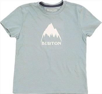 Burton Kid's Classic Mountain High Short Sleeve T Shirt, 4T Lead