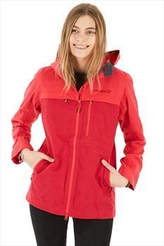 Norrona Svalbard Cotton Women's Windstopper Jacket, M Crisp Ruby