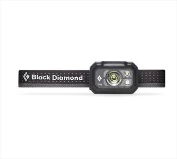Black Diamond Storm375 LED Headlamp, 375 Lumens Graphite