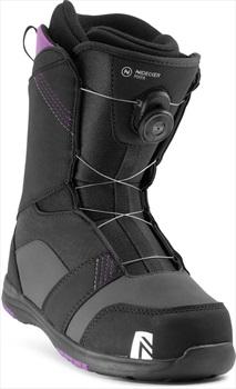 Nidecker Maya Boa Women's Snowboard Boots, UK 6.5 Black 2020