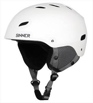 Sinner Bingham Ski/Snowboard Helmet L Matte White