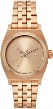 Nixon Medium Time Teller Women's Watch, All Rose Gold