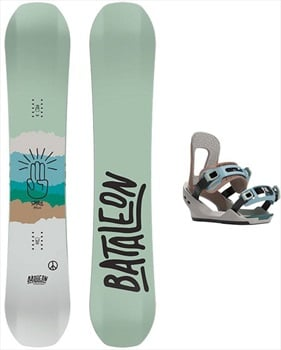 Bataleon Spirit Snowboard Package, 140cm | Small 2020