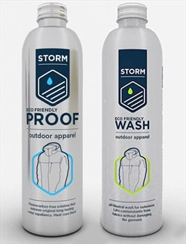 Storm Care Ultimate Apparel Care Kit Gear Cleaner & Waterproofer Pack