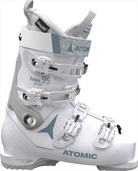Atomic Hawx Prime 95W Women's Ski Boots, 25/25.5 Vapor/Light Grey 2020