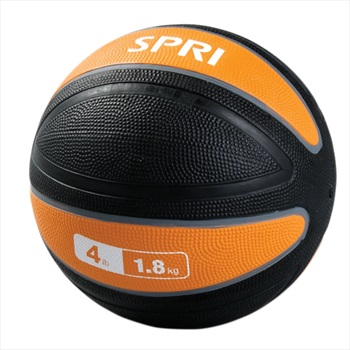 SPRI Xerball Medicine Ball, 1.8 KG Orange