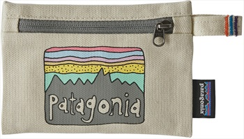 Patagonia Small Zippered Pouch Coin Wallet, OS Fitz Roy Skies