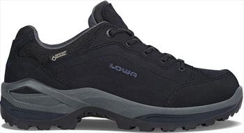 Lowa Renegade GTX Lo Women's Walking Shoes, UK 4 Black/Blackberry