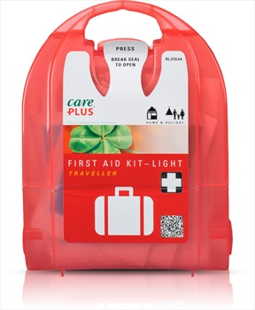 Care Plus Light Traveller Compact First Aid Kit, 20 Pcs Red