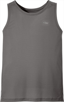 Outdoor Research Men's Echo Tank UPF Protective Vest, L Pwter/Charcoal