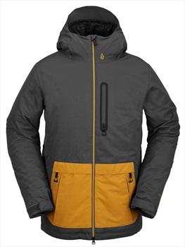 Volcom Deadly Stones Insulated Ski/Snowboard Jacket, S Dark Grey