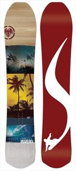 Never Summer Maverix Rocker Camber Snowboard, 157cm 2020
