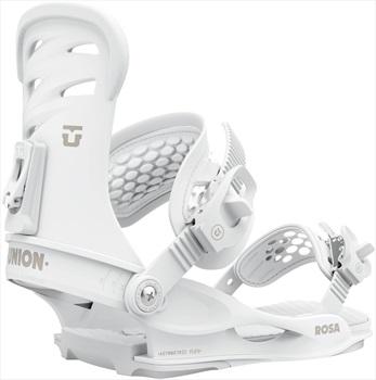 Union Rosa Women's Snowboard Bindings, S White 2021