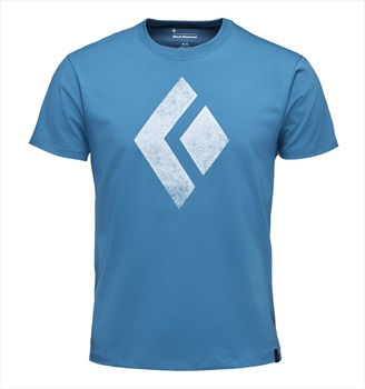 Black Diamond Chalked Up Tee Rock Climbing T-shirt, S Astral Blue