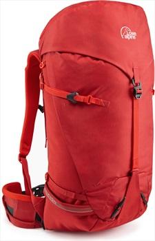 Lowe Alpine Halcyon 45:50 Mountaineering Backpack, 50L Haute Red