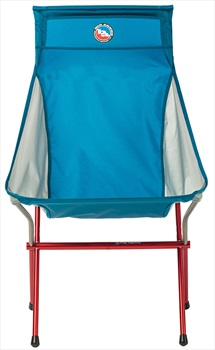 Big Agnes Big Six Camp Chair Deluxe Lightweight Outdoor Chair, Blue