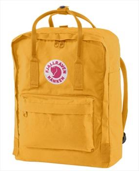 Fjallraven Kanken Backpack, 16L Warm Yellow
