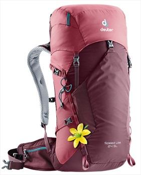 Deuter Speed Lite 24SL Women's Ultralight Backpack, Maroon-Cardinal