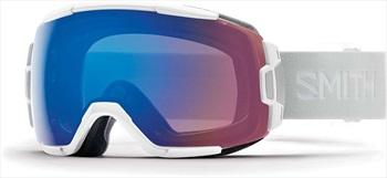 Smith Vice CP Storm Rose Snowboard/Ski Goggles, M White Vapor