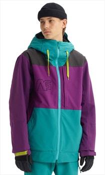 Analog Greed Snowboard/Ski Jacket, L Green-Blue Slate