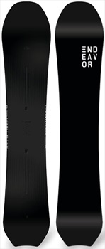 Endeavor Scout Hybrid Camber Snowboard, 156cm 2019