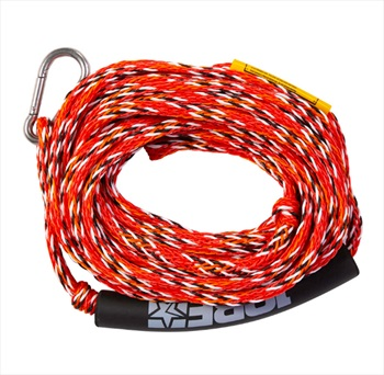 Jobe Heavy Duty Towable Tube Rope, 2 Rider With Hook Red 2020
