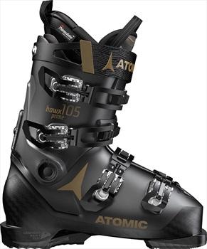 Atomic Hawx Prime 105 S W Women's Ski Boots, 25/25.5 Black/Grey 2020