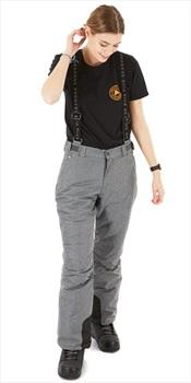 Five Seasons Evron Women's Ski/Snowboard Pants, M Grey Melange