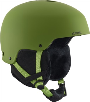 Anon Womens Lynx Women's Ski/Snowboard Helmet, L Fern Green