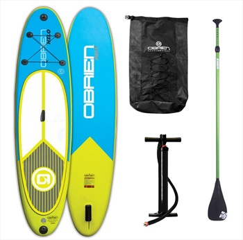 "O'Brien Hilo All-round ISUP Paddleboard Package, 10'6"" Blue Yel. 2019"