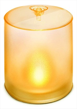Mpowerd Luci Candle Solar Light Solar Powered Inflatable Lantern