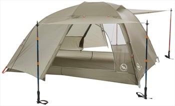 Big Agnes Copper Spur HV UL3 Ultralight Backpacking Tent, 3 Man Olive