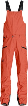 Saga Monarch Snowboard/Ski Bib Pants, M Grenadine