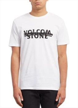 Volcom Big Mistake BSC Short Sleeve T-Shirt, S White